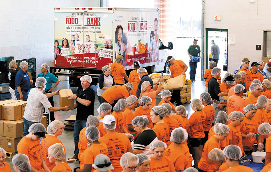 DriveToFeedKids Packing