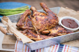 Barbecued Picnic Chicken