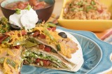 Vegetable Tortilla Stack