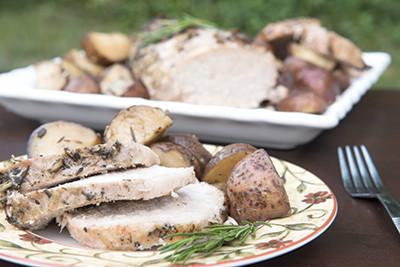 Herbed Pork and Potatoes